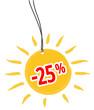 -25 %