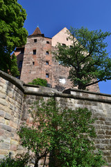 Castle of Nuremberg Bavaria Germany