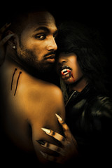 Sexy Black Vampire Couple