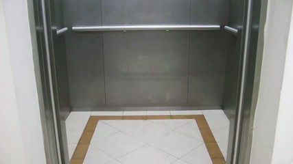 Inside Elevator and Doors open