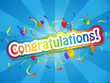 """CONGRATULATIONS"" Card (well done achievement good job message)"