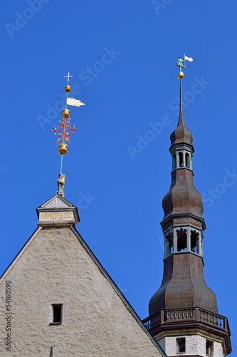 windvane in old Tallinn