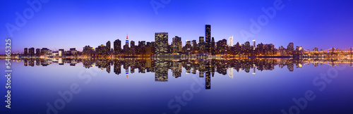 Midtown Manhattan Skyline Panorama - 54165325