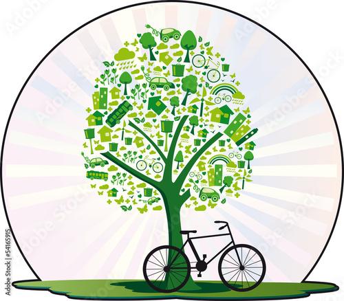 Árvore ecológica