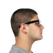 Young Man Side Profile