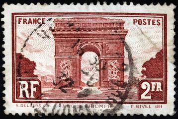 Triumphal Arch Stamp