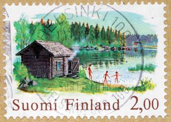 Sauna Stamp
