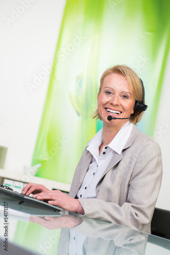 kundengespräch per headset
