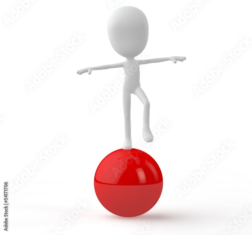 gleichgewicht ball tomi