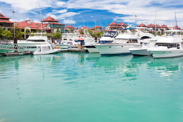 marina d'Eden Island, Victoria, Mahé, Seychelles