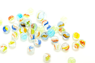 Enjoy your leisure time with playing marbles!