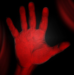 Horror - Red Hand
