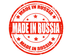 Made in Russia-stamp
