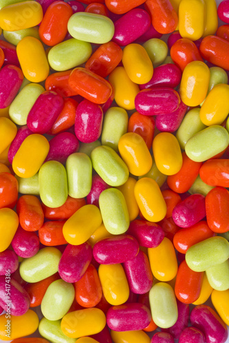 Colorful sweet candy dragees background
