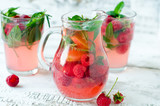 .Berry lemonade