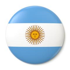 Argentina Pin-back