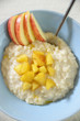 Milchreis mit Apfelkompott
