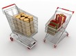 concept of purchase of commodities for money.
