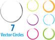 vector circles - 54180763