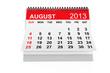 Calendar August 2013
