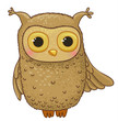owl cartoon character
