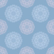 abstract ornamental seamless pattern with circle elements