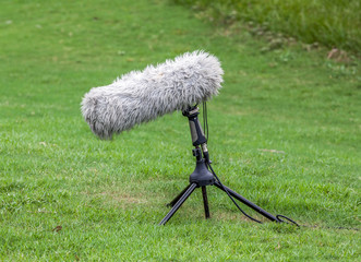 Boom Microphone for Live Sport Broadcast