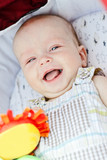 laugh of baby boy