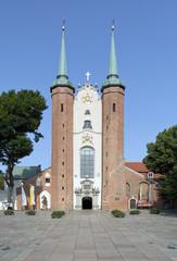 Basilica of The Holy Trinity in Gdansk Oliwa, Poland