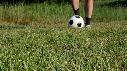 Fußball Dribbling Tele