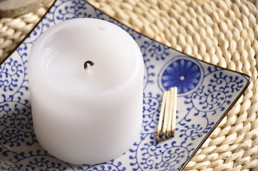 home decoration - scented candle