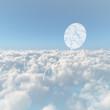 雲海と風船の雲