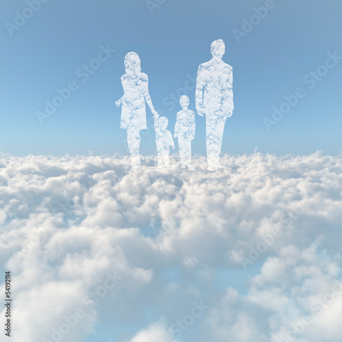 雲海とファミリーの雲