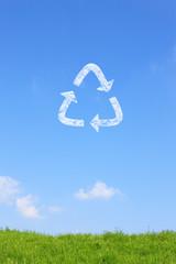 草原とリサイクル