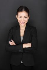 Businesswoman confident portrait