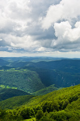 A view from the top of a beautiful Beljanica mountain