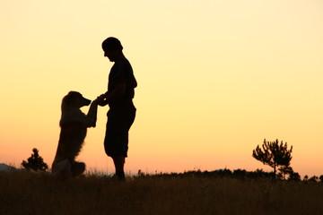 dog&human