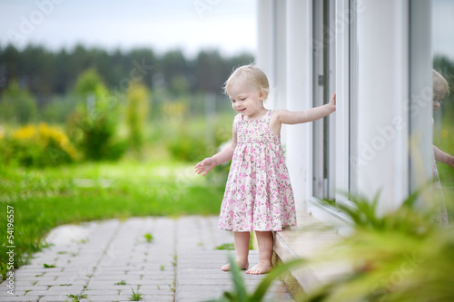 Adorable little girl portrait