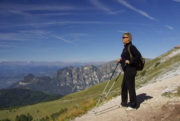 Wanderwege der  Alpen