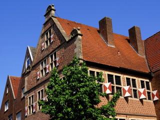 Altstadt von BORKEN  (  westl. Münsterland  )