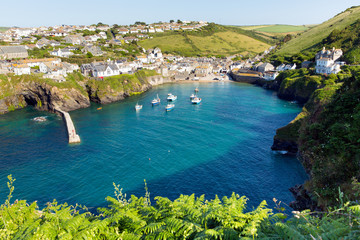 Port Issac Cornwall England UK