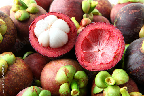 Mangosteen Thai fruit