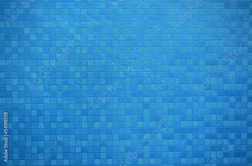 abstract blue wall small squares lines background