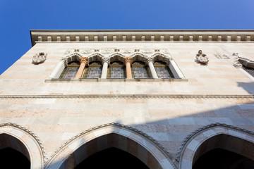 View of Loggia del Lionello in Udine