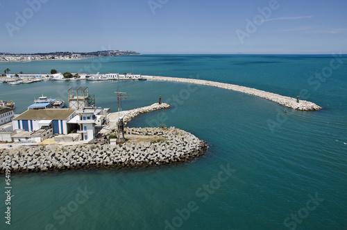 Fotobehang Tunesië La Goulette, Tunis