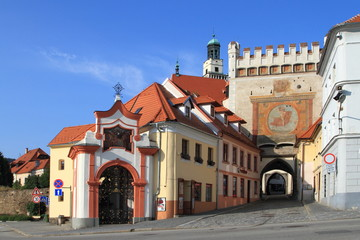 Old historic town Prachatice