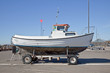 Boat on wheels