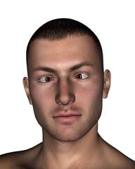 Esotropia - 3D render