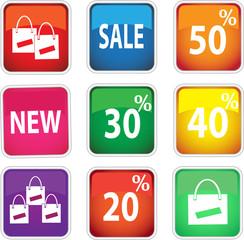 Набор иконок для магазина