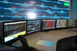 control room of railway - 54203717